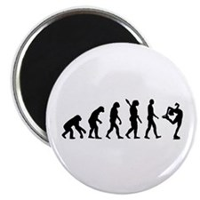 "Evolution Figure skating 2.25"" Magnet (10 pack)"