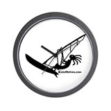 Kokopelli Windsurfer Wall Clock