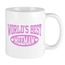 World's Best MeeMaw Mug