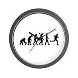 Evolution running marathon Wall Clock