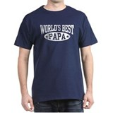 World's Best Papa Tee-Shirt