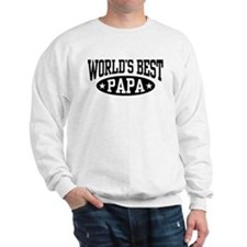 World's Best Papa Sweatshirt