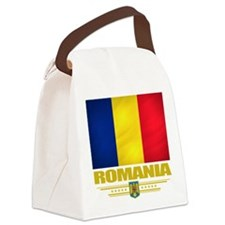 Romania (Flag 10).png Canvas Lunch Bag