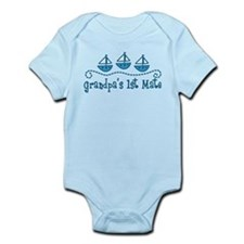 Grandpas 1st Mate Infant Bodysuit