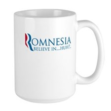romnesia believe in huh definition Mug
