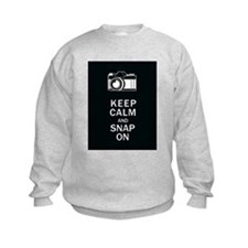 Keep Calm And Snap On Sweatshirt