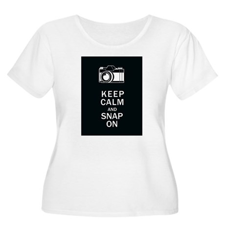 Keep Calm And Snap On Women's Plus Size Scoop Neck