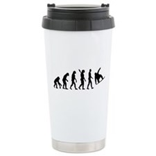 Evolution Snowboard Ceramic Travel Mug