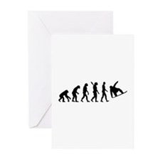 Evolution Snowboard Greeting Cards (Pk of 10)
