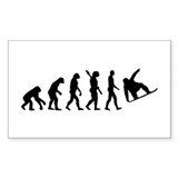 Evolution Snowboard Decal