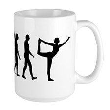 Evolution Yoga Ceramic Mugs