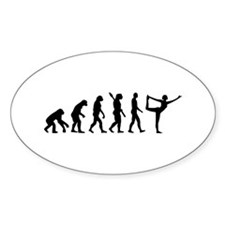 Evolution Yoga Decal