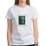 Food Under Foot Eat Weeds Chicory Women's T-Shirt