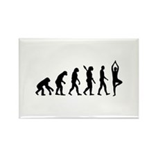 Evolution Yoga Rectangle Magnet