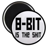 "8 Bit Is The Shit 2.25"" Magnet (10 pack)"