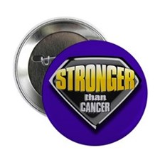 Stronger than cancer Button