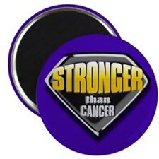 Stronger than cancer Magnet