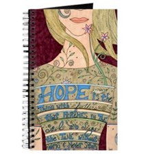 Cute Pink hope Journal