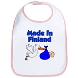 Made In Finland Boy Bib