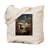 For Whom the Bell Tolls Tote Bag with poem
