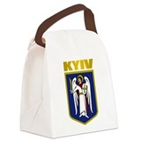 Kiev COA.png Canvas Lunch Bag