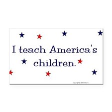 Cute Autism america Rectangle Car Magnet