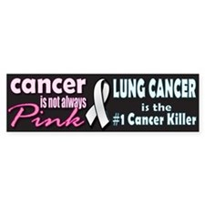 Cancer is not always Pink! Car Sticker