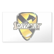 1st cav Oval Decal