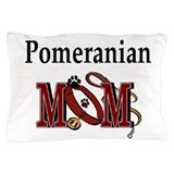 Pomeranian Mom Pillow Case