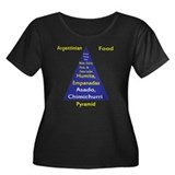 Argentinian Food Pyramid Women's Plus Size Scoop N