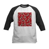 Red Sock Monkey Print Tee