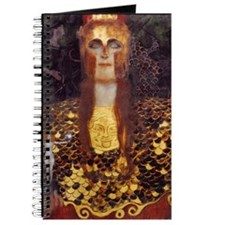 Pallas Athene by Klimt Journal