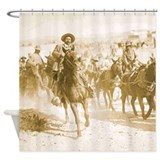 Pancho Villa Rides Shower Curtain