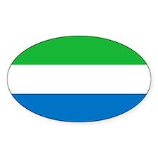 Flag of Sierre Leone Decal