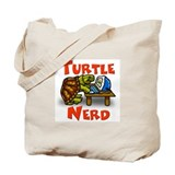 Turtle Nerd Tote Bag