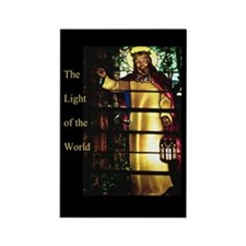 Jesus Light of the World Rectangle Magnet (10 pack
