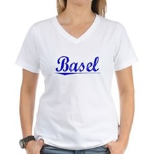 Basel, Blue, Aged Shirt