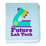 Future Lab Tech baby blanket