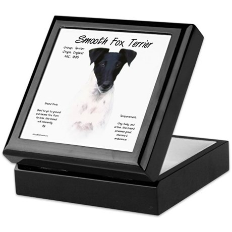 Smooth Fox Terrier Keepsake Box