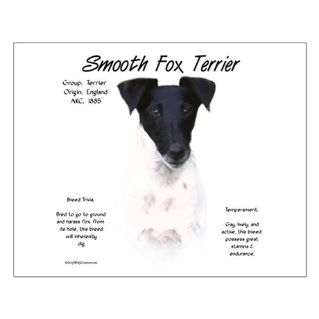 Smooth Fox Terrier Small Poster