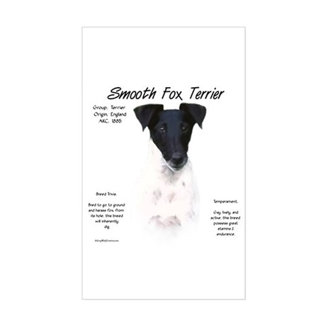 Smooth Fox Terrier Rectangle Sticker