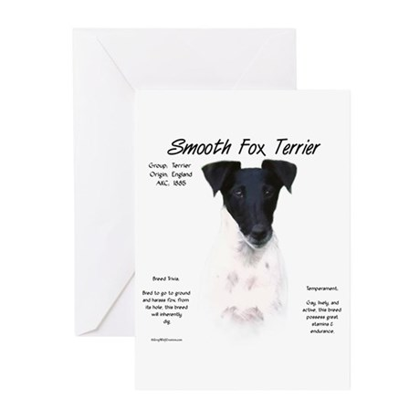 Smooth Fox Terrier Greeting Cards (Pk of 10)