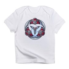 Celtic Triple Crescents - Red Infant T-Shirt