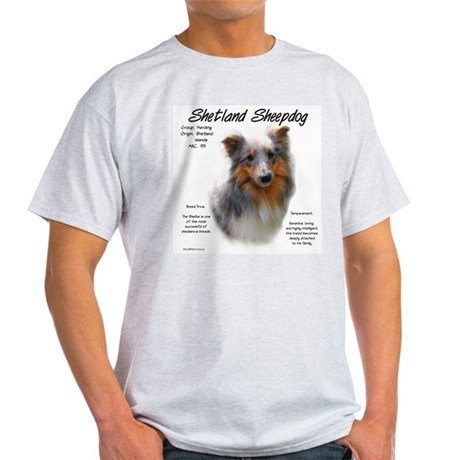 Shetland Sheepdog Ash Grey T-Shirt