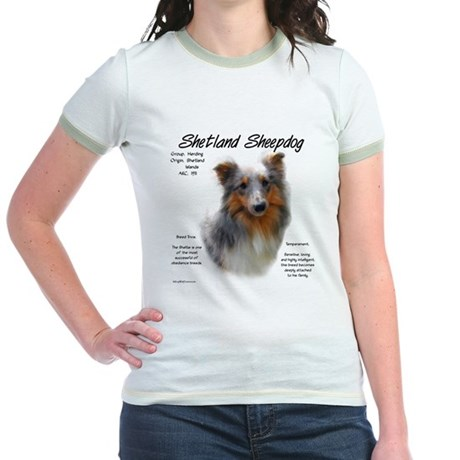 Shetland Sheepdog Jr. Ringer T-Shirt