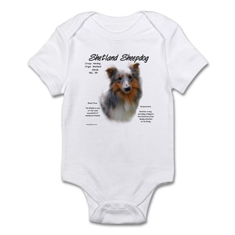 Shetland Sheepdog Infant Creeper