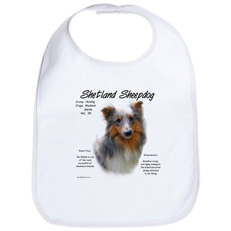 Shetland Sheepdog Bib