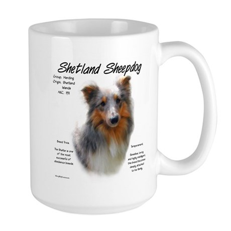 Shetland Sheepdog Large Mug 