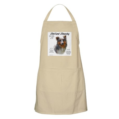 Shetland Sheepdog BBQ Apron