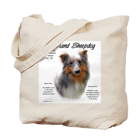 Shetland Sheepdog Tote Bag